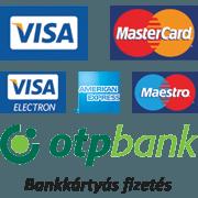 Bankkártyás fizetési lehetőség!